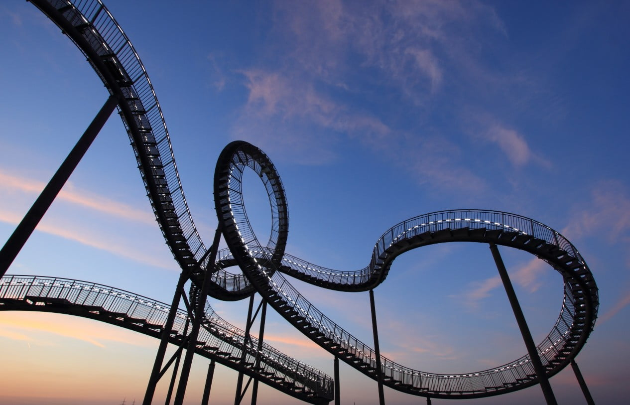 How to ride the investment rollercoaster